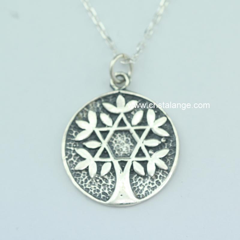 Toutes les lois de l 39 univers dans ce collier avec sceau de salomon inclus dans arbre de vie de - Arbre a collier ...