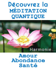 méditation quantique spiritualité et lâcher prise