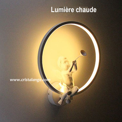 lampe led ange musicien assis dans cercle bijoux lithoth rapie pierres fines cristalange. Black Bedroom Furniture Sets. Home Design Ideas