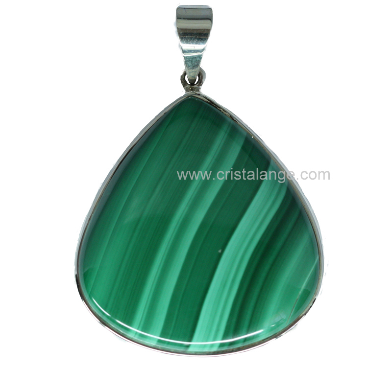 pendentif malachite pierre verte et lithoth rapie utilisez le pouvoir des pierres du monde. Black Bedroom Furniture Sets. Home Design Ideas