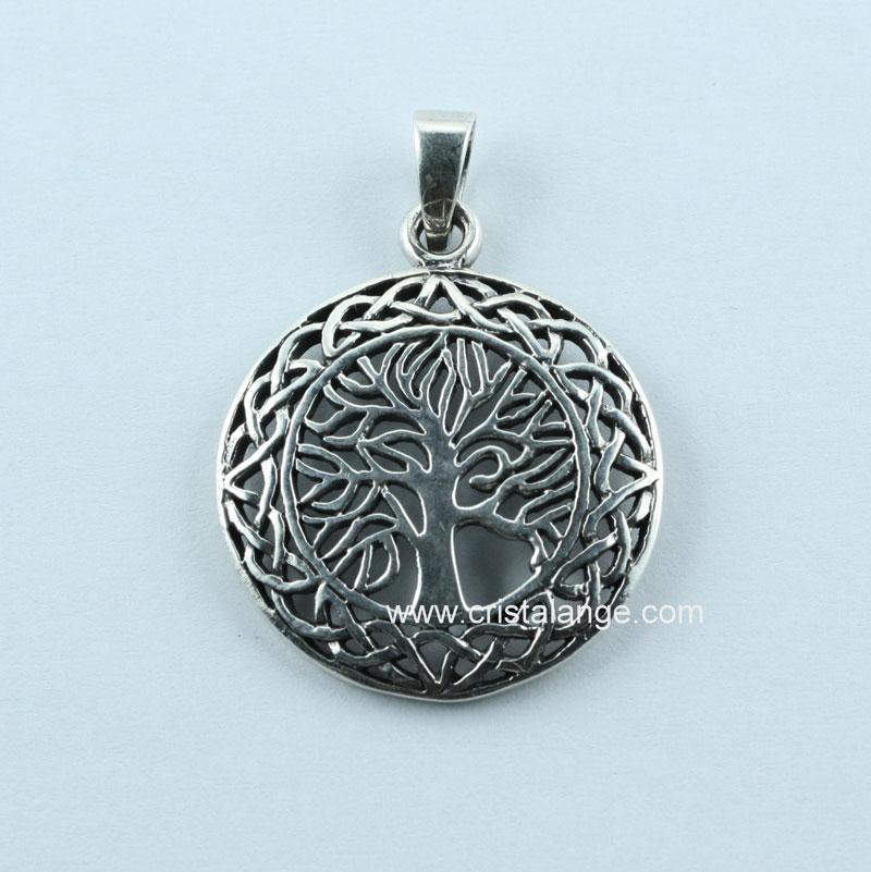 collier arbre de vie pour homme