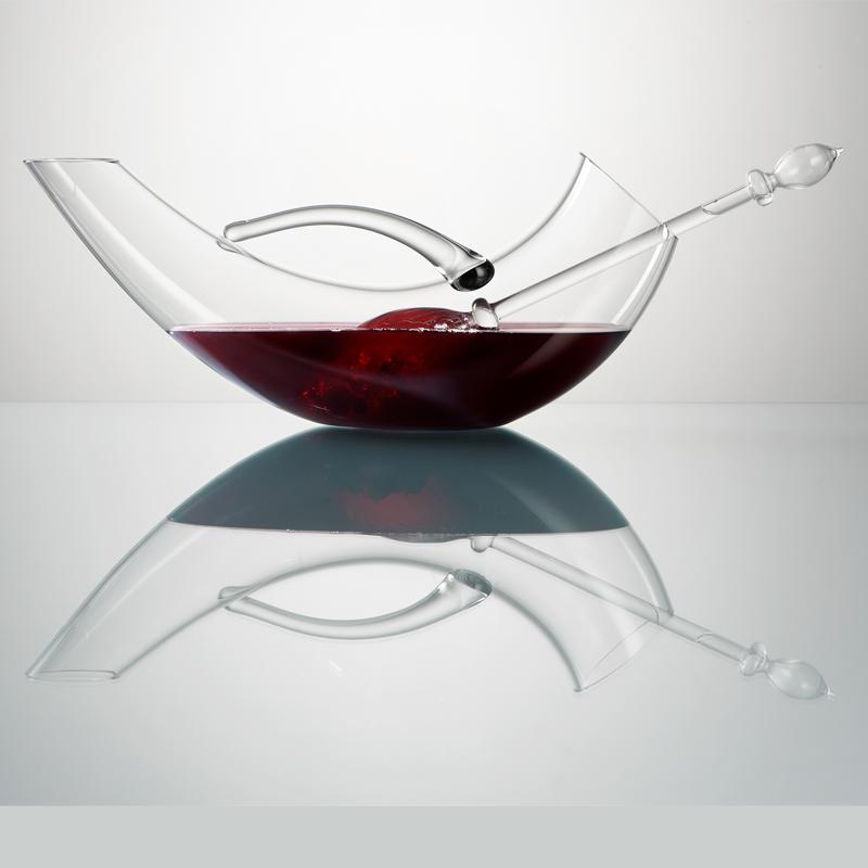 Décanteur À Vin décanteur à vin design pour développer les arômes et les tanins de
