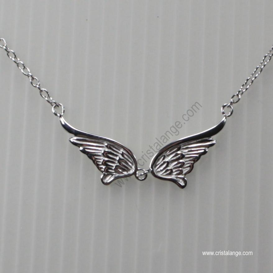 Collier pendentif aile