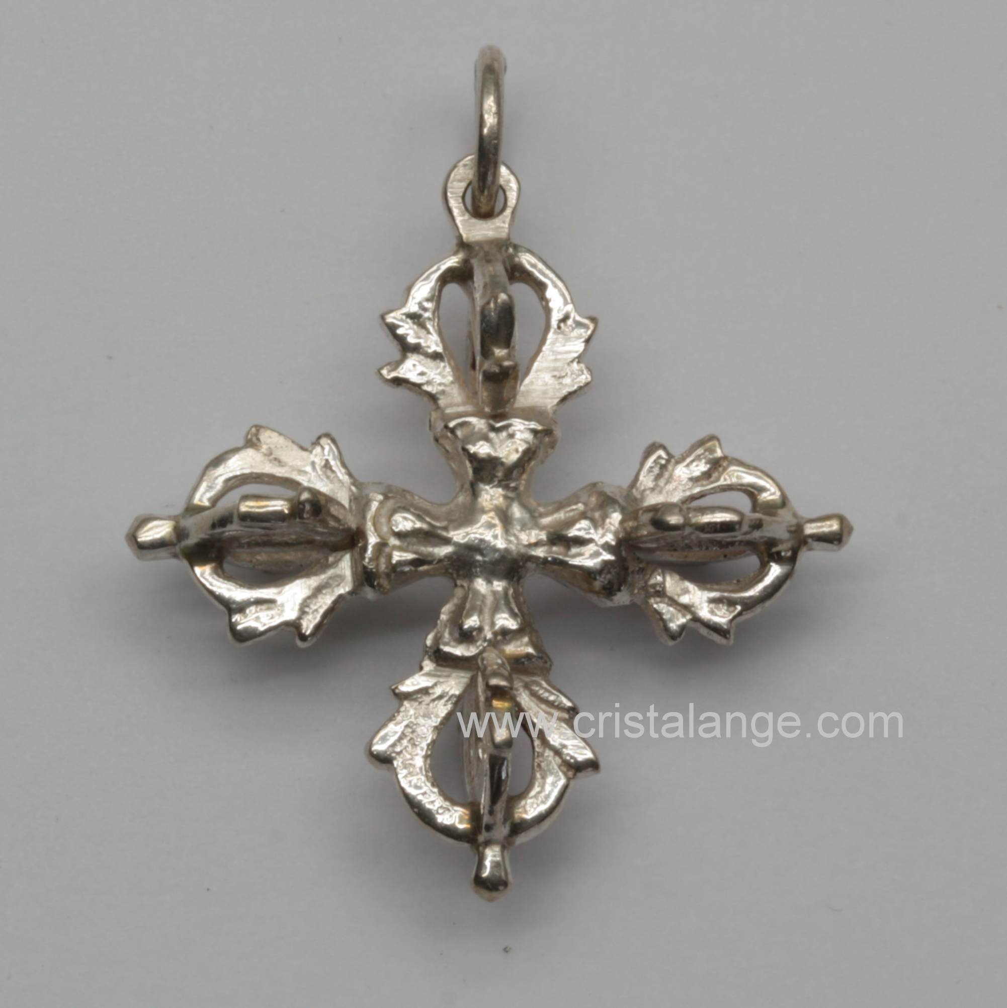 crossed dorje silver pendant products potalagate